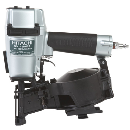 HITACHI COIL ROOF NAILER